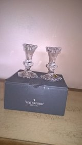 Waterford  crystal candle holders in Chicago, Illinois