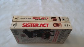 Sister Act and Sister Act 2 VHS in 29 Palms, California
