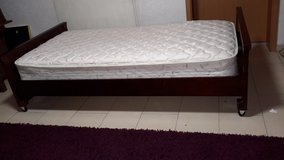 Twin Size Bed with Mattress and Box Spring in Ramstein, Germany