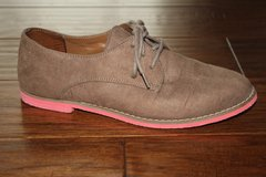 Grey Suede Oxford Shoes in Fort Riley, Kansas