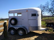 TWO HORSE STRAIGHT LOAD HORSE TRAILER in Fort Campbell, Kentucky