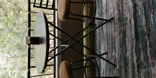 Patio Bistro table with chairs in Kingwood, Texas
