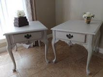 Vintage Solid Wood French End Tables Nightstands in Kingwood, Texas