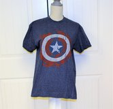 Marvel Comic Captain America Medium Super Hero Long Sleeve Men's Shirt Knit in Kingwood, Texas