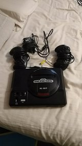 sega genisus 1st gen complete with 2 controllers av and power in Byron, Georgia