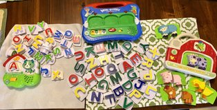 Fridge magnets ( farm, word whammer, and fridge phonics) in Clarksville, Tennessee