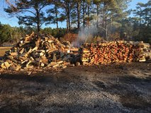 Firewood-already split- free delivery - Stock up - cold is still here! in Cherry Point, North Carolina