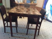 Pub table with 2 stools in Clarksville, Tennessee