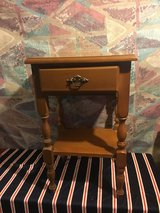 Small wood table with draw in Clarksville, Tennessee