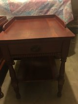 2 cherry ?? end tables in Clarksville, Tennessee