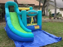 Bounceland Bounce House with ball pit and slide (blower included) in Converse, Texas
