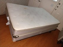 Full size Bed Plush Top Mattress in Fort Bliss, Texas