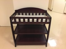 Delta Children Infant Changing Table with Pad, Espresso Cherry in Okinawa, Japan