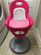 Boon Flair Pedestal Highchair with Pneumatic Lift ~ Pink in Conroe, Texas