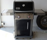 Weber Spirit Series Grill w/ Grill Cover and Propane Tank in Okinawa, Japan