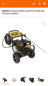 Dewalt Pressure Washer 4200 PSI in The Woodlands, Texas