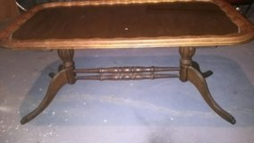 Antique claw foot coffee table in Topeka, Kansas