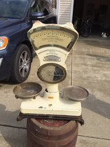 Antique German scale in Elizabethtown, Kentucky