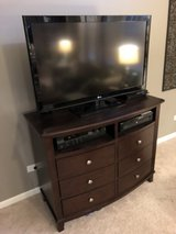 Excellent used condition media center/dresser combo in Shorewood, Illinois
