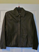 Dark Brown Leather Jacket, Size 10 in Beaufort, South Carolina