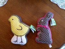 Stuffed Bunny and Chick - NEW w/Tags  - Great for Easter or Spring in Orland Park, Illinois