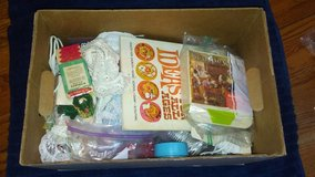 Box of crafts in Kingwood, Texas
