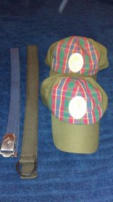 Boy and Cub Scout hats and belts in Baytown, Texas