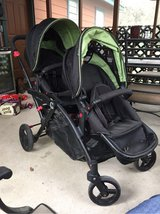 Contours options elite double stroller in Kingwood, Texas