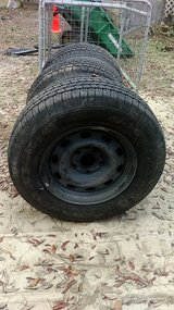 New tires-donated for fund raiser-for Military Veteran animal therapy program in Pensacola, Florida