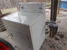 older Electric dryer, in Fort Leonard Wood, Missouri