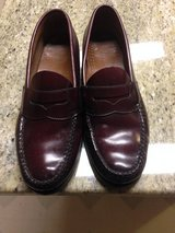 Bass penny loafers in Beaufort, South Carolina