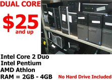 Desktop Computer PC - Intel Dual Core CPU - Core 2 , Pentium , AMD in Miramar, California