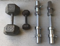 Dumbbells in Yuma, Arizona