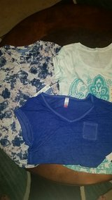 3 shirts, new with tags, size small in Warner Robins, Georgia