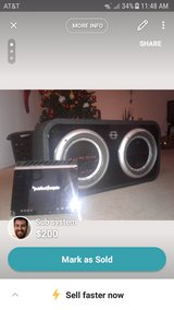 10 in subs(2) with amp in Vista, California
