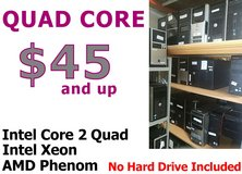 Desktop Computer PC - Intel Quad Core CPU - Core 2 Quad , Xeon , AMD in Miramar, California