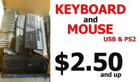 Computer Keyboard & Mouse - Wired & Wireless - USB & PS2 in Miramar, California