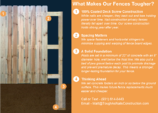 We Build the Toughest Privacy Fences in Clarksville in Fort Campbell, Kentucky