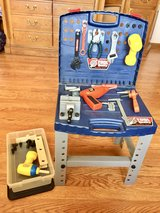 Childs Toolbox Play set w/Realistic Tools in St. Charles, Illinois