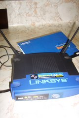 Linksys router in The Woodlands, Texas