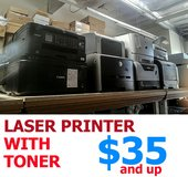 Standard Laser Printer With Toner - Good Working Condition in Miramar, California