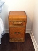 Vintage night stand in Spring, Texas