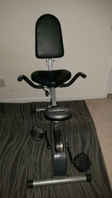 Exerpeutic 1110 400XL Space Saver Recumbent Bike in Cary, North Carolina