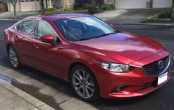 2015 Mazda 6 Leather / Soul Red in Travis AFB, California