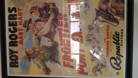 Movie Poster Roy Rogers in 29 Palms, California