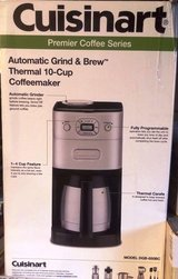 Cuisinart Grind and Brew coffee maker (used once) in Palatine, Illinois
