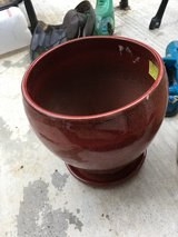 Plant pot with saucer in Vacaville, California