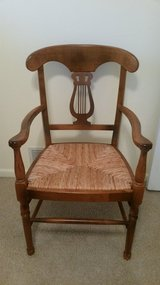 Maple chair woven seat in Chicago, Illinois