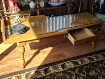 coffee table, solid wood in Aurora, Illinois