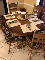 Dining Table with Chairs in Warner Robins, Georgia
